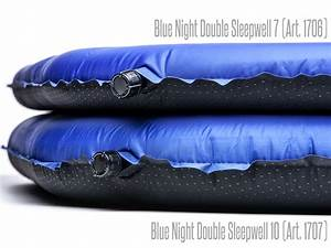 Selbstaufblasbare Isomatte 10 Cm : skandika blue night double sleepwell 10 cm doppel isomatte ~ Jslefanu.com Haus und Dekorationen