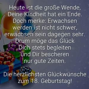 Geburtstagsbilder Zum 18 : gl ckw nsche zum 18 geburtstag beliebt lustig kreativ ~ A.2002-acura-tl-radio.info Haus und Dekorationen