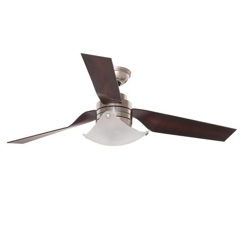 hunter windspan 52 in indoor brushed nickel ceiling fan