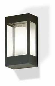 Applique Extérieure Gris Anthracite : applique brick de roger pradier gris anthracite ~ Dailycaller-alerts.com Idées de Décoration