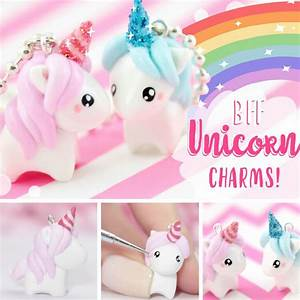 How to Make Magical DIY Unicorn Charms - Video Tutorial