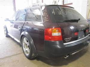 Parting Out 2003 Audi Allroad - Stock   120361