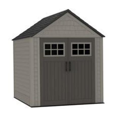 Rubbermaid Deck Box Canadian Tire by Jardin Jardin Shed 4 Ft X 6 Ft 17198297 Home Depot