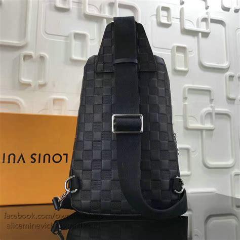 louis vuitton damier infini leather avenue sling bag
