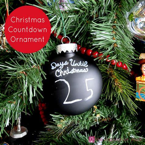 christmas countdown ornament the inspiration vault