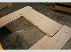 Building an Interior Door Part One The Frame