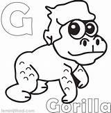 Gorilla Coloring Printable Magilla Sheets Animal Guppies Bubble Coloringfolder Getcolorings Template Colorings Pag sketch template