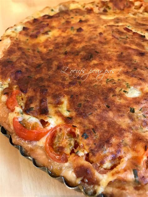 tarte 224 la tomate sans oeufs z oeufs peux pas