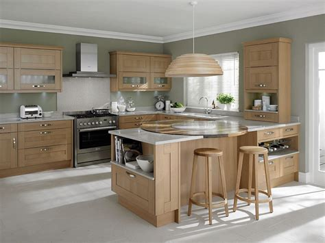 kitchen colors with light wood cabinets awesome light oak wooden kitchen designs light oak