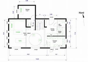 plan d39une maison 155 m2 sur r1 pour avis 106 messages With plan maison avec cotation