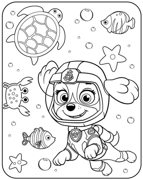 Paw Patrol Coloring Pages To Print in 2020 Kolorowanki