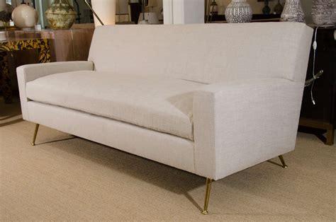 Sofa Order by Custom Order Robsjohn Gibbings Sofa With Brass Legs Circa