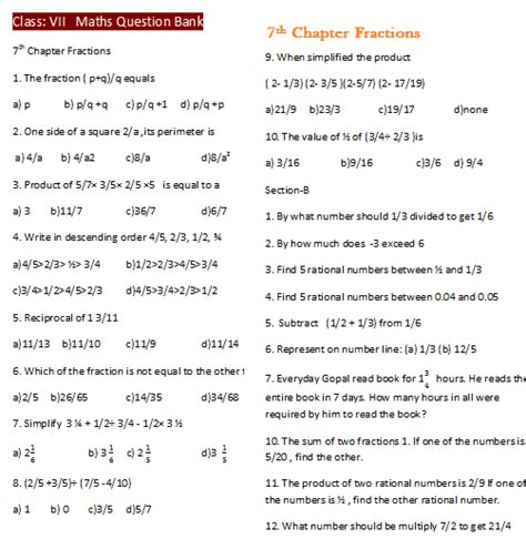 integers worksheets for grade 7 cbse 7th grade maths worksheets cbse homeshealth info