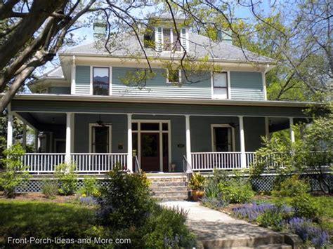 Top Photos Ideas For Wrap Around Porch Homes by Country Porches Wrap Around Porches Farm House