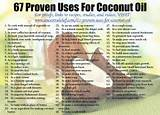 Uses For Coconut Oil Photos
