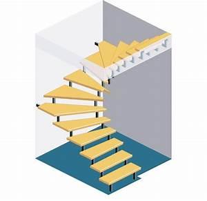 Halbgewendelte Treppe Konstruieren : die besten 25 halbgewendelte treppe ideen auf pinterest ~ A.2002-acura-tl-radio.info Haus und Dekorationen
