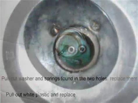 bathtub leak shower  spout repair youtube