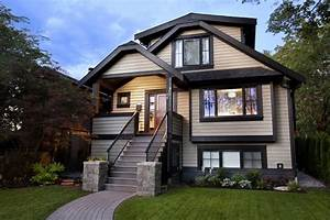 tan siding with brown trim exterior victorian with
