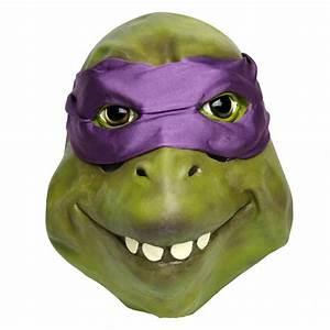 Ninja Turtle mask (purple) Donatello - MisterMask nl
