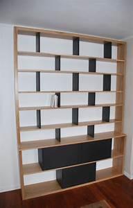 Bibliothèque Murale Contemporaine : bibliotheque contemporaine ~ Teatrodelosmanantiales.com Idées de Décoration