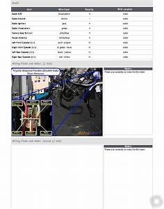 02 Toyota Sequoia Remote Start