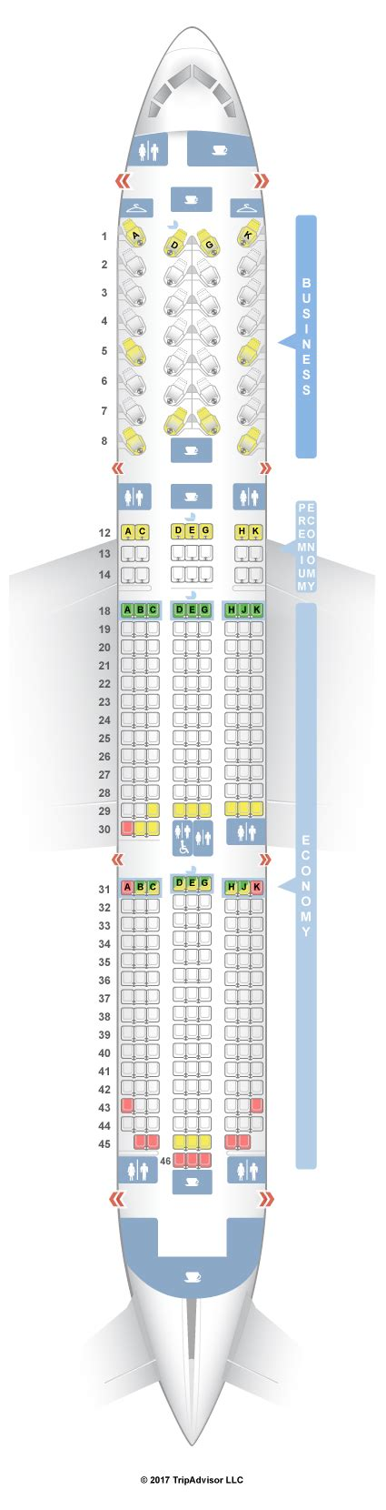 selection siege air transat air transat seat selection map brokeasshome com