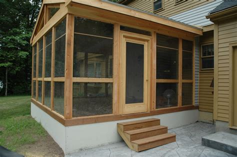 screened in porch an saybrook screened porch renovation central ct