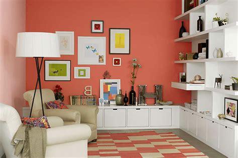 color coral en paredes  ideas  pintar la casa