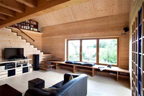 tech wooden house built  glue screws  nails