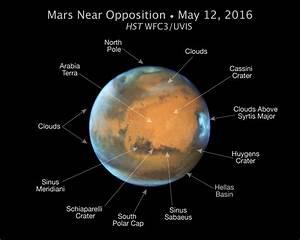 Mars Near 2016 Oppostion (Annotated) – NASA's Mars ...