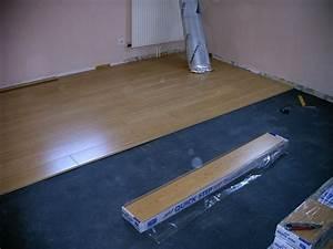 pose parquet parquets flottants parquet bois parquet With comment couper le parquet flottant