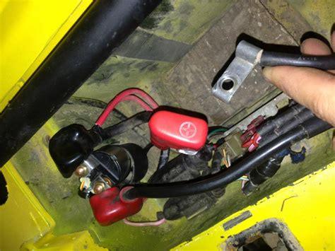 fourtrax  electrical problem honda atv forum