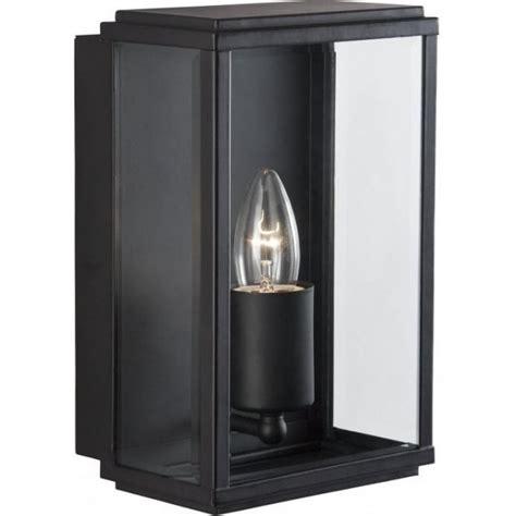 searchlight 8204bk 1 light modern outdoor wall light