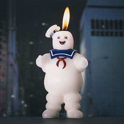 Puft Stay Candle Marshmallow Ghostbusters Shipping Firebox