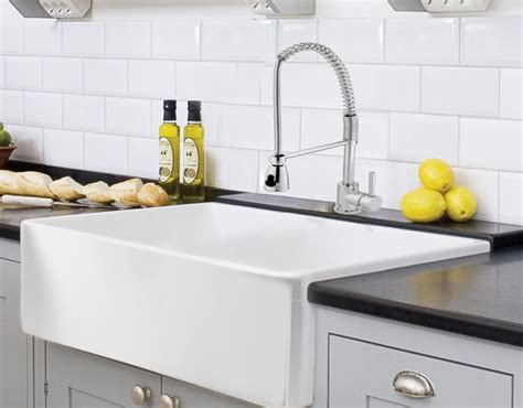 white kitchen farmhouse sink farm sinks insteading 1372