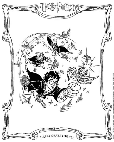 Harry Potter Coloring Pages Coloring Pages To Print