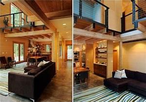 Wooden, House, Interior, Design, Ideas, 7448