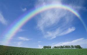 Photo Collection Blue Sky Rainbow Wallpapers