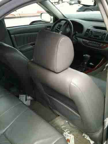 how cars engines work 2003 toyota camry seat position control buy used 2002 toyota camry xle leather heated seats fleet maintained needs engine work in