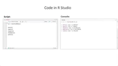 R Studio How To Calculate Mean, Median Etc (in Less Than