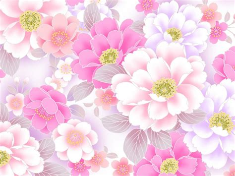 pink floral wallpaper designs hd wallpapers wallpapers