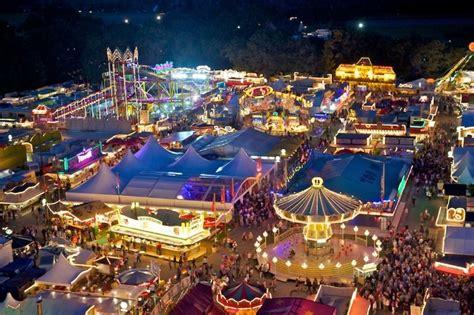 der stoppelmarkt von oben foto matthias niehues kirmes