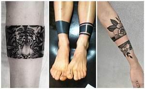 Tatuajes de brazaletes y pulseras, significados y diseños