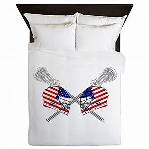 two lacrosse helmets queen duvet by ddbaz With kitchen colors with white cabinets with lacrosse helmet stickers