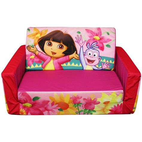 mickey mouse flip open sofa with slumber marshmallow furniture flip open sofa with slumber