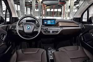 Elektroauto Bmw I3s Cockpit Innen Interieur