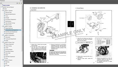 1994 1996 yamaha vmax 500 600 snowmobile service manual