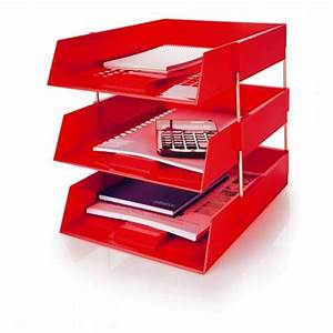 initiative plastic letter tray red With plastic letter trays