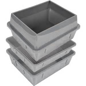 sifting cat litter box lift n sift cat litter box slate blue walmart
