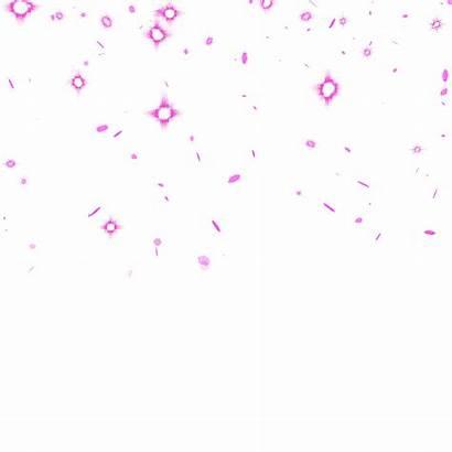 Glitter Pink Raining Sticker Background Giphy Transparent